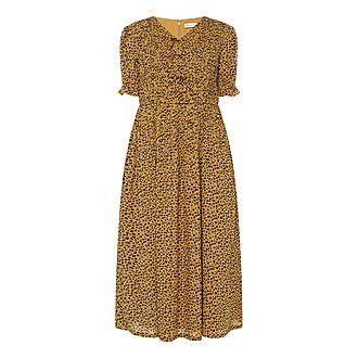Kristen Leopard Dress