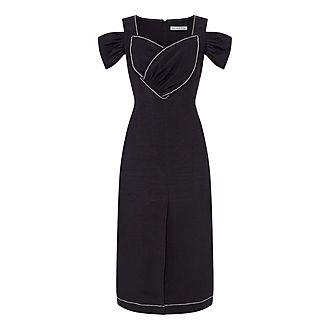 Isabelle Linen Dress