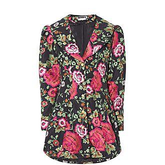 Floral Coat Dress
