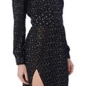 Belted Dot Dress, ${color}
