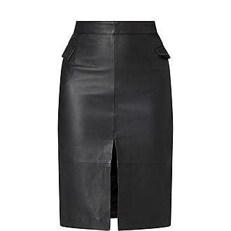 Maine Leather Skirt
