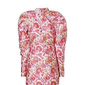 Raspberry Rose Mini Dress