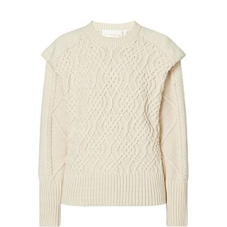 Diana Cable Knit Sweater