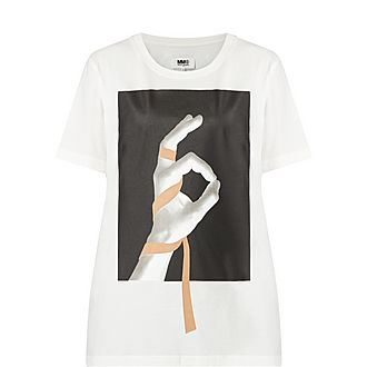 OK Hand Symbol T-Shirt