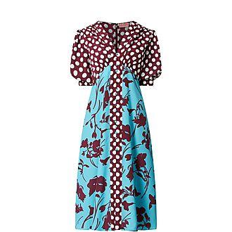 Selena Vintage Midi Dress