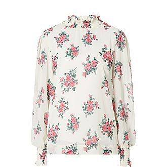 Meredith Smocked Blouse