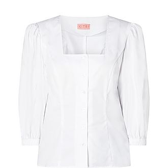 Ruby Volume Sleeve Shirt