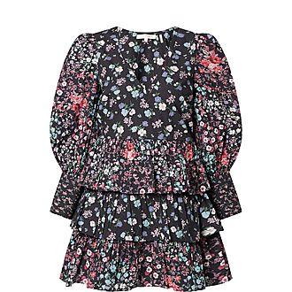 Paris Floral Mini Dress