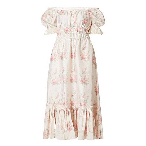 Terrence Floral Midi Dress, ${color}