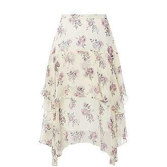 Alex Floral Midi Skirt