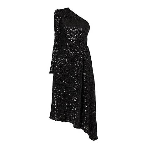Mona One Sleeve Dress, ${color}