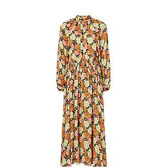 Mai Print Dress
