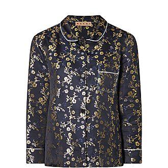 Floral Brocade Jacket
