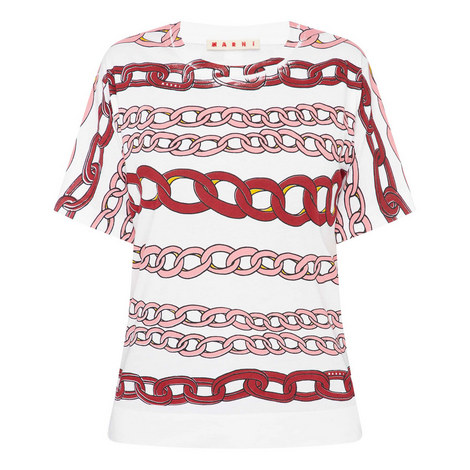 Chain Print T-Shirt, ${color}