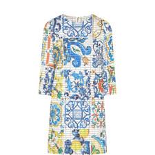 Majolica Motif Dress