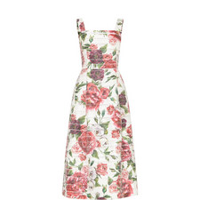 Peony Panel Midi Dress