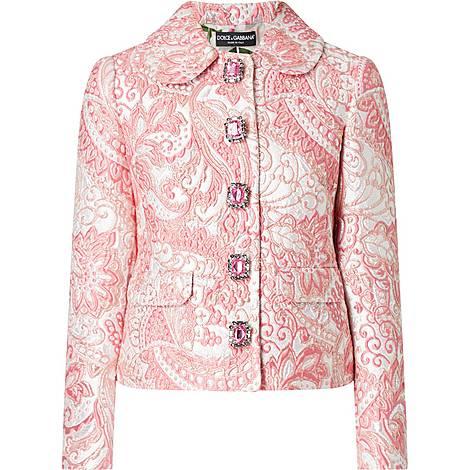 Brocade Short Jacket, ${color}
