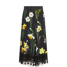 Daffodil Print Skirt