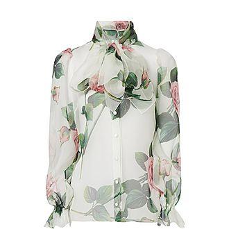 Sheer Rose Shirt