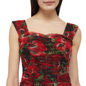 Floral Gauze Dress, ${color}