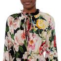 Long Sleeve Floral Dress, ${color}