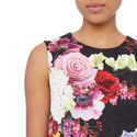 Floral Mini Dress, ${color}