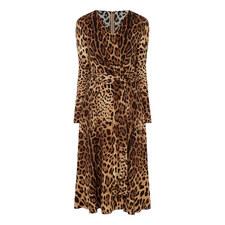 Cady Leopard Dress