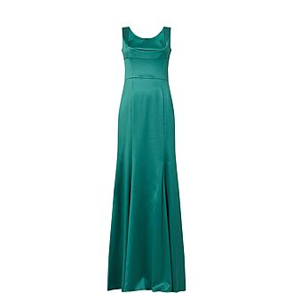 Duchesse Fitted Maxi Dress