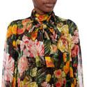 Chiffon Bloom Blouse, ${color}