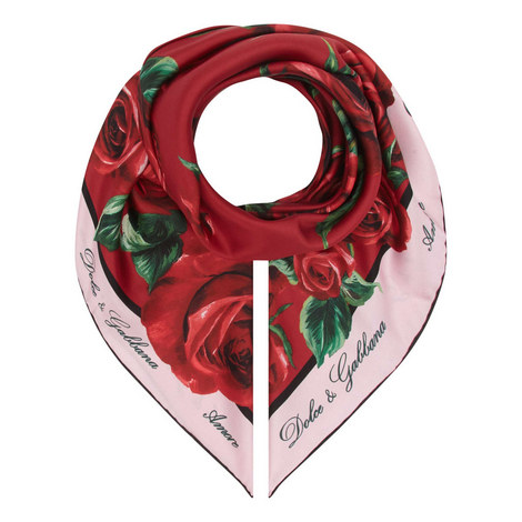Floral Logo Headscarf, ${color}