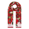 Poppy Crepe Wrap Scarf, ${color}