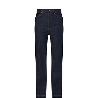 Fitted Denim Jeans
