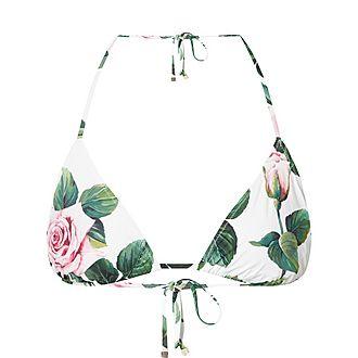 Roses Bikini Top