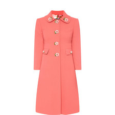Rose Button Coat