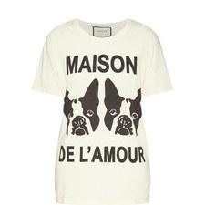 Maison de l'Amour Print T-Shirt