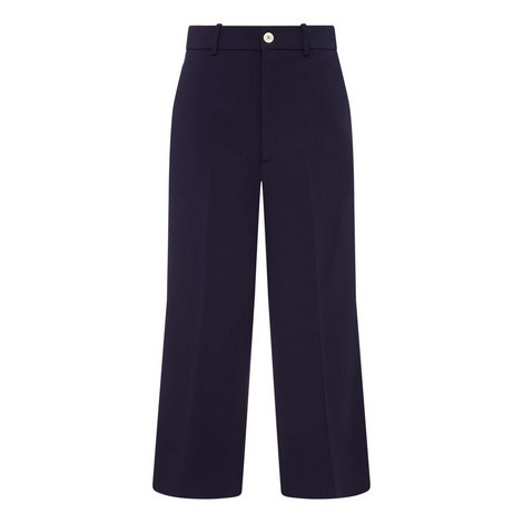 Cady Cropped Trousers, ${color}