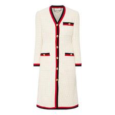 Tweed Dress Coat
