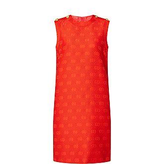 Round-Neck Mini Dress