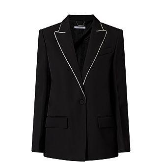 Crystal Trim Jacket