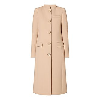 Megan Long Wool Coat