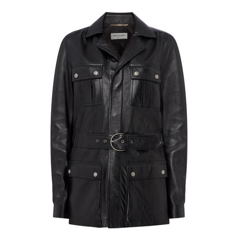 Lambskin Military Jacket, ${color}