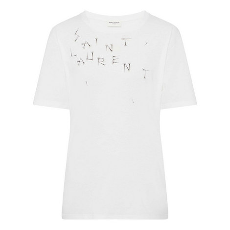 Letter Logo T-Shirt, ${color}
