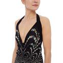 Floral Halter Maxi Dress, ${color}