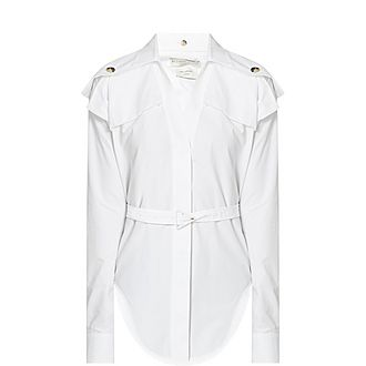 Utility Belted Shirt