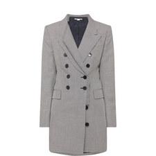 Double-Breasted Tweed Jacket