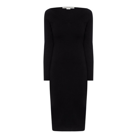 Compact Knit Dress, ${color}