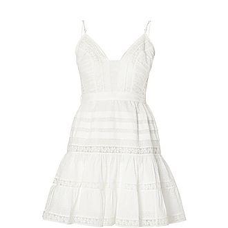 Honour Scallop Mini Dress