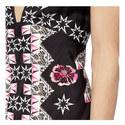 Flux Printed Dress, ${color}