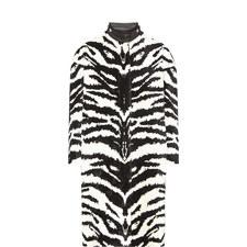 Tiger Jacquard Coat