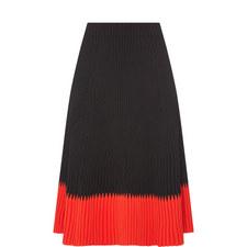 Contrasting Hem Skirt
